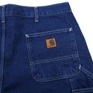 Carhartt Work Dungaree Carpenter Denim Jeans